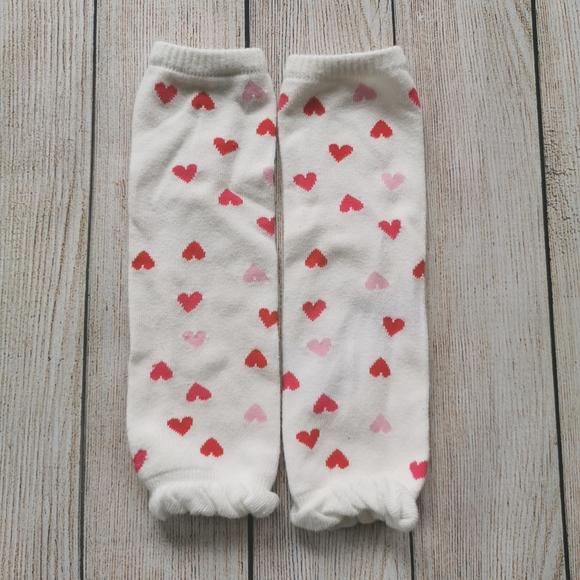 🤩3/$10🤩 Heart Pattern Baby Leg Warmers